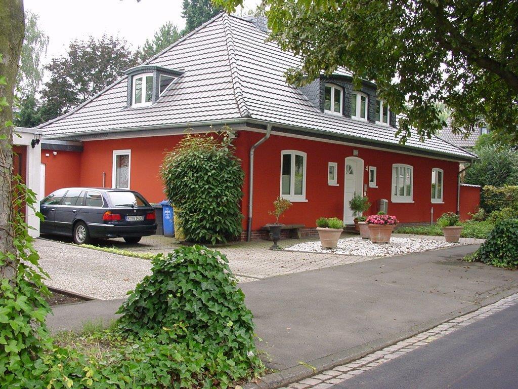 Anstrich, Haus, Bonn,Fassaden, Wand