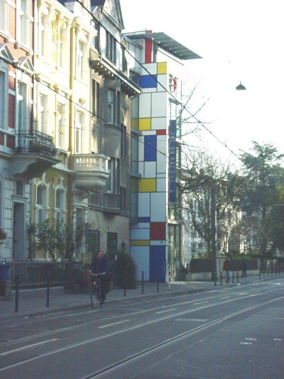 van de Sandt, Bonn, Fassaden, Wand