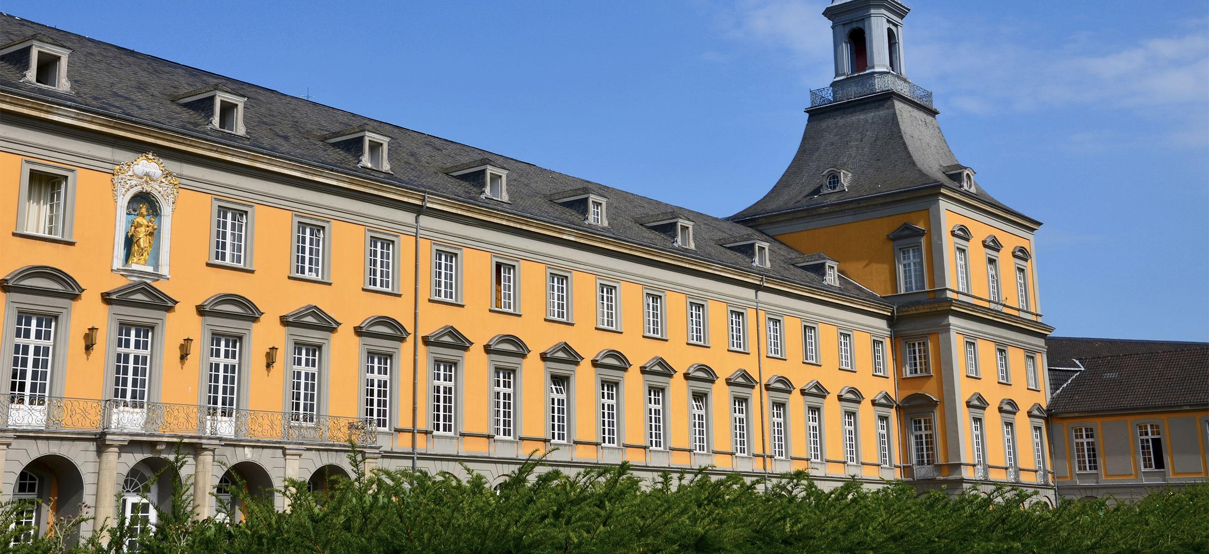 Fassaden, Uni Bonn, Wand