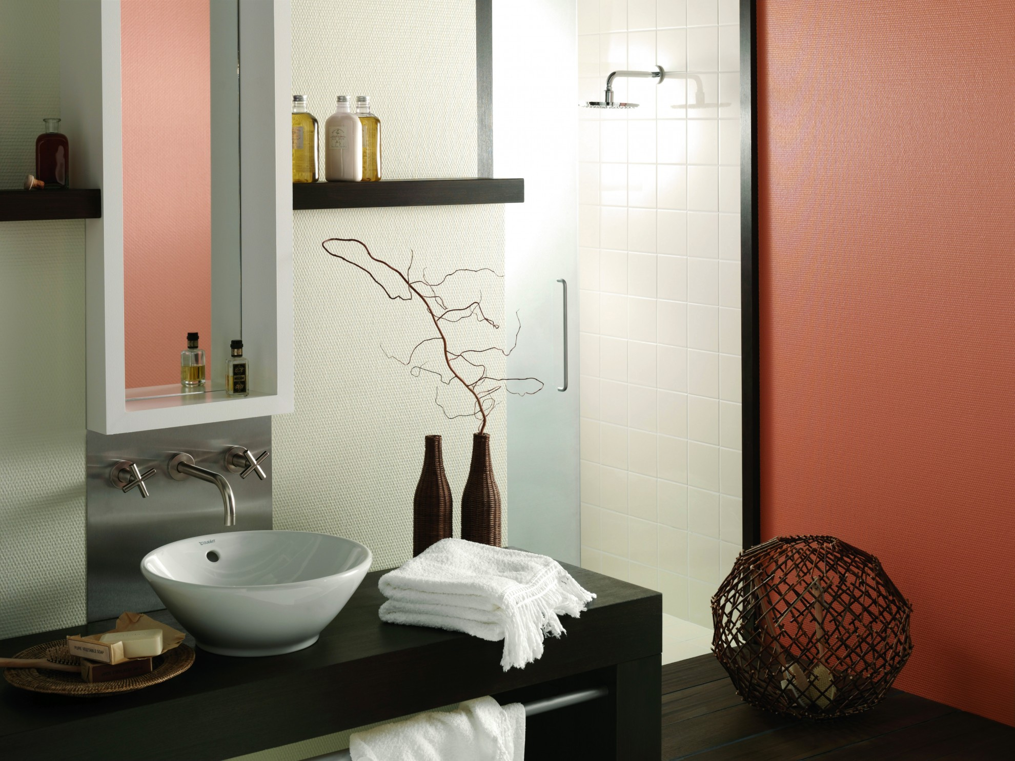 Raumgestaltung, Wand, Innenraum, Tapete, Putz, Badezimmer