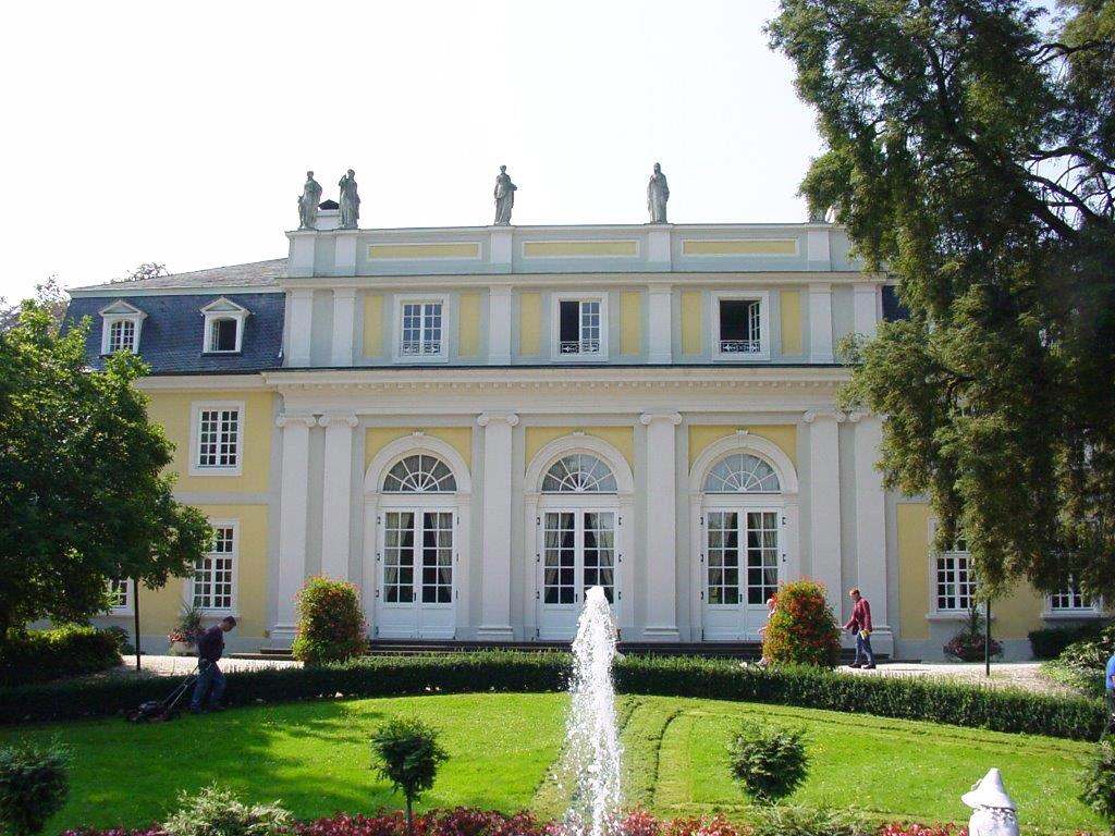 Altbau, Bonn, Fassaden, Wand